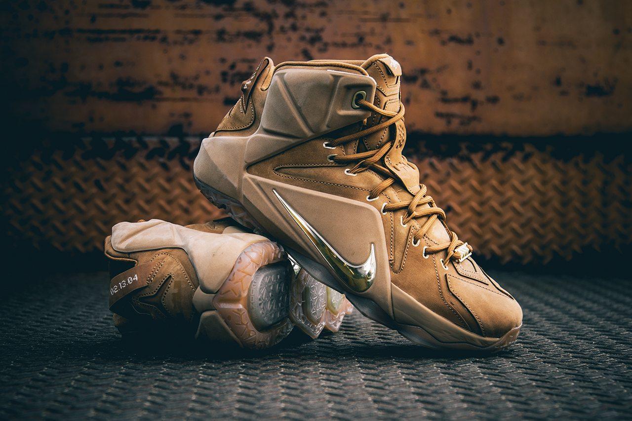 Nike Lebron XII EXT Wheat 5