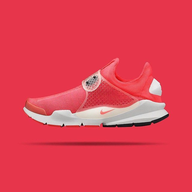 Nike Sock Dart SP Solar Red