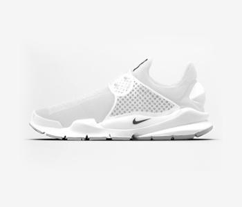 Nike Sock Dart SP Triple White 350x300