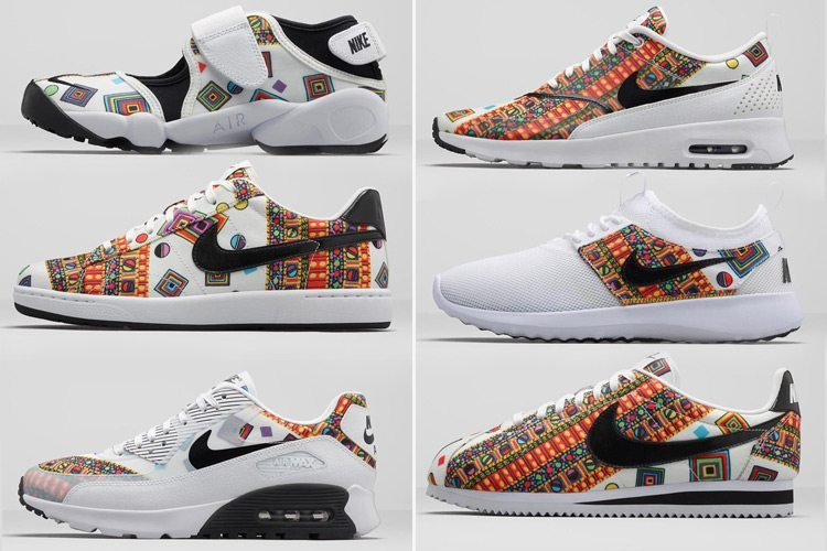 Nike x Liberty–Summer Collection 2015
