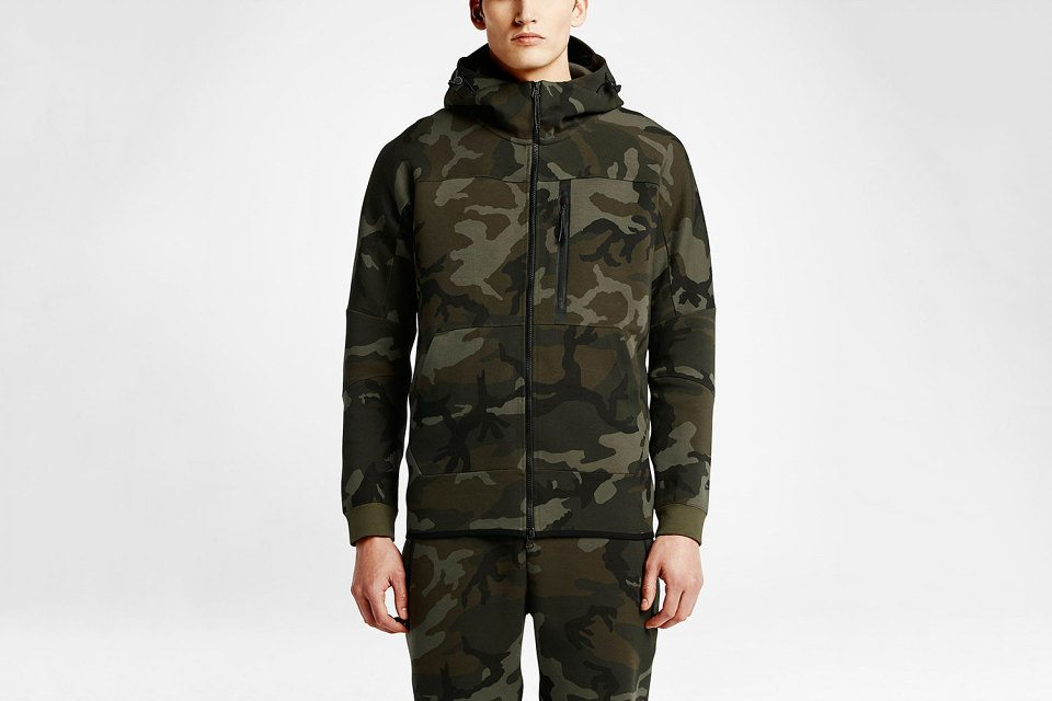 NikeLab Spring Summer 2015 Tech Fleece Camo Pack 1