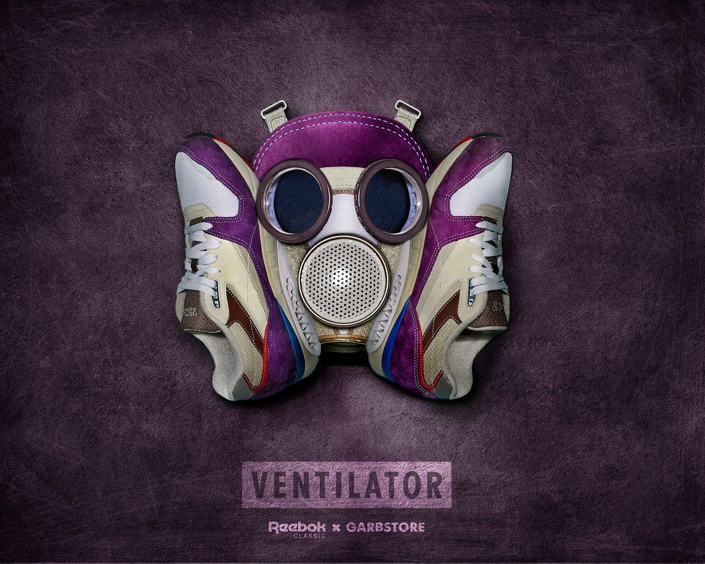 Reebok Classic x Garbstore Ventilator Supreme 3