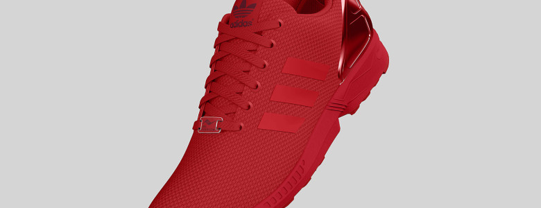 adidas Originals ZX FLUX All Red II 1 780x300
