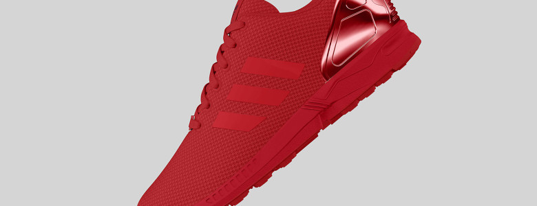 adidas Originals ZX FLUX All Red II 2 780x300