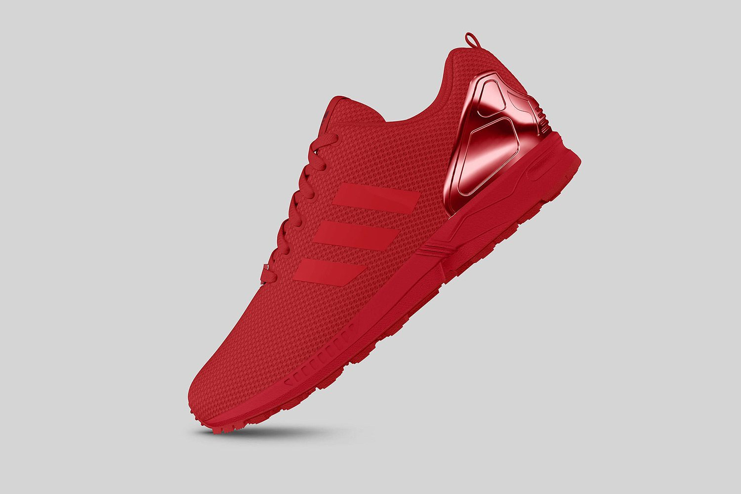 adidas Originals ZX FLUX All Red II 2