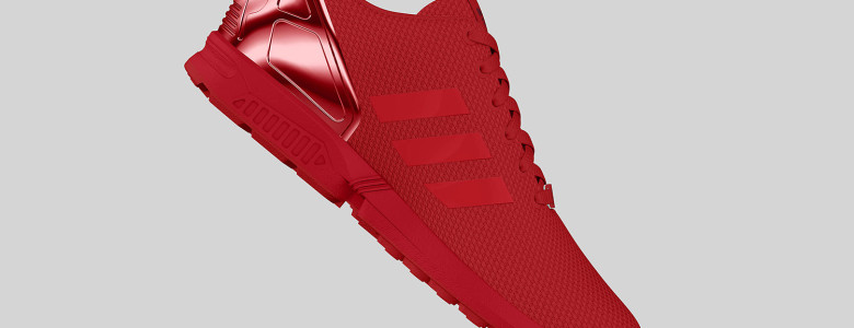 adidas Originals ZX FLUX All Red II 6 780x300
