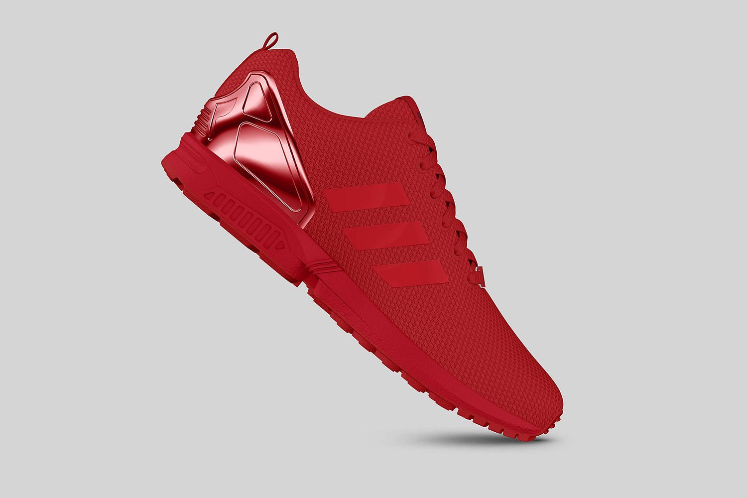 adidas Originals ZX FLUX All Red II 6