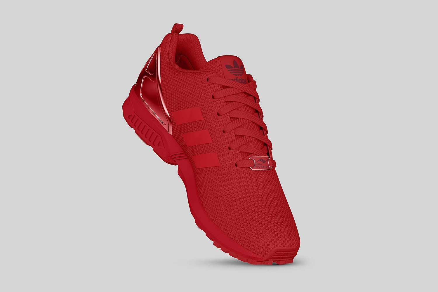 adidas Originals ZX FLUX All Red II 7