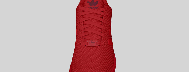 adidas Originals ZX FLUX All Red II 8 780x300