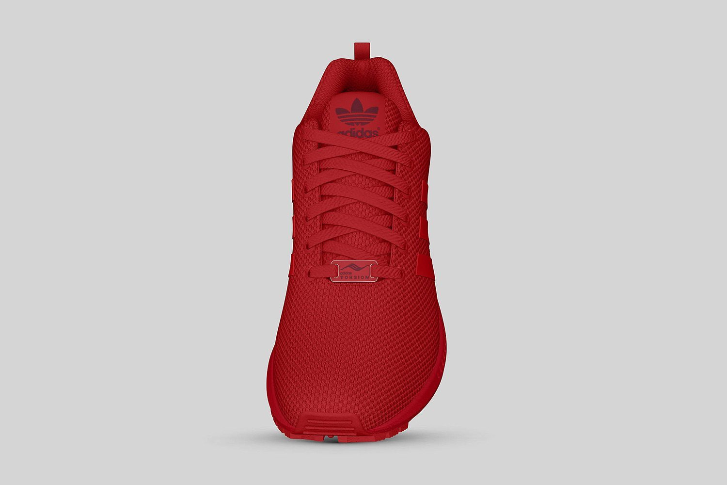 adidas Originals ZX FLUX All Red II 8
