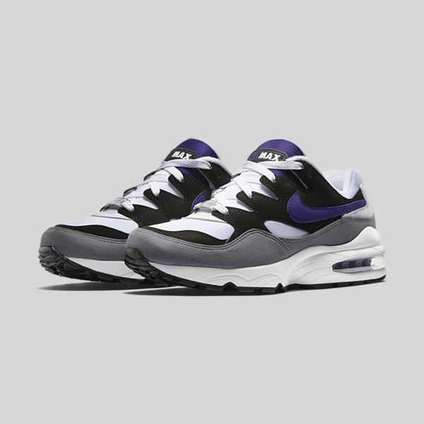 Nik Air Max 94 Grey Violet White