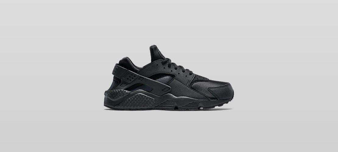 Nike Air Huarache All Black 1110x500