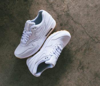 Nike Air Max 1 Leather PA Ostrich White Gum 1 350x300