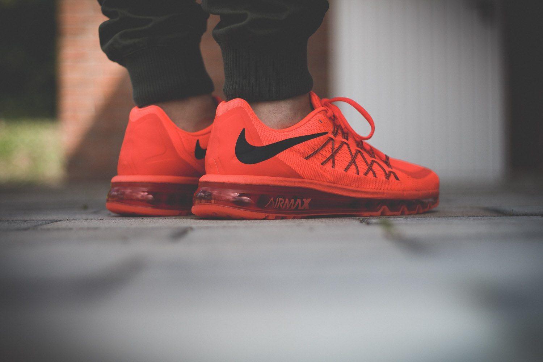 Nike Air Max 2015 Bright Crimson 5
