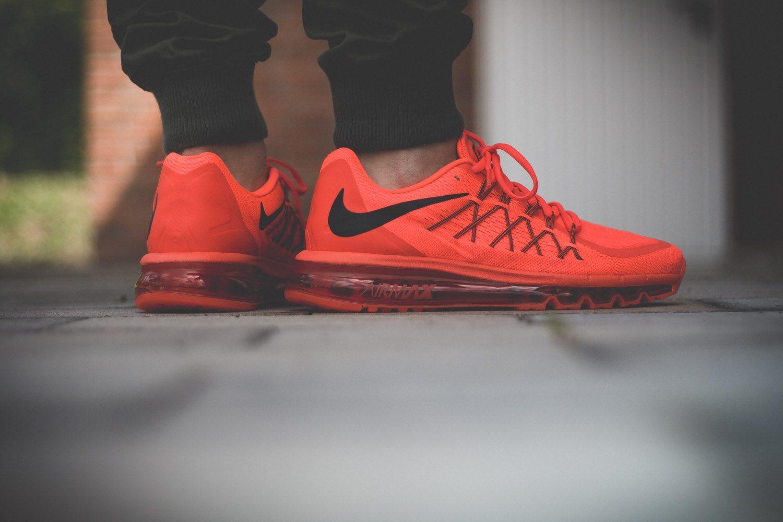 Nike Air Max 2015 Bright Crimson 9
