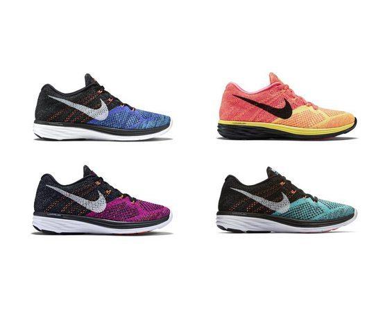 Nike Flyknit Lunar 3 New Colorways
