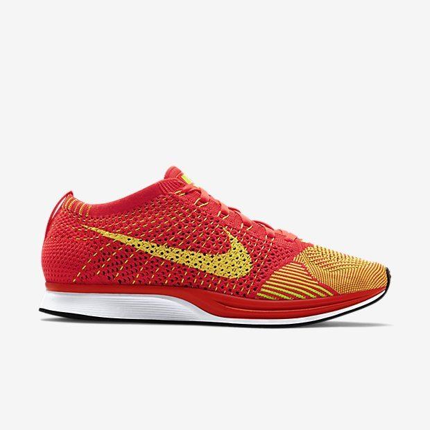 Nike Flyknit Racer Bright Crimson