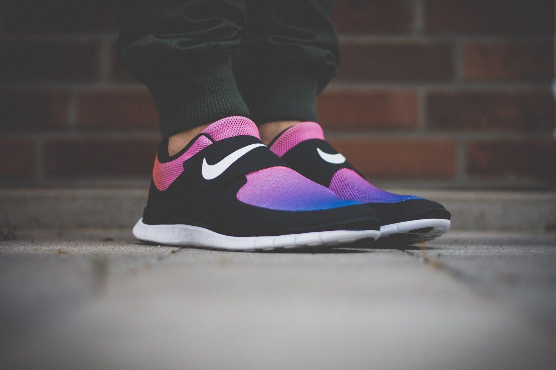 Nike Free SOCFLY Black Pink Flash 2