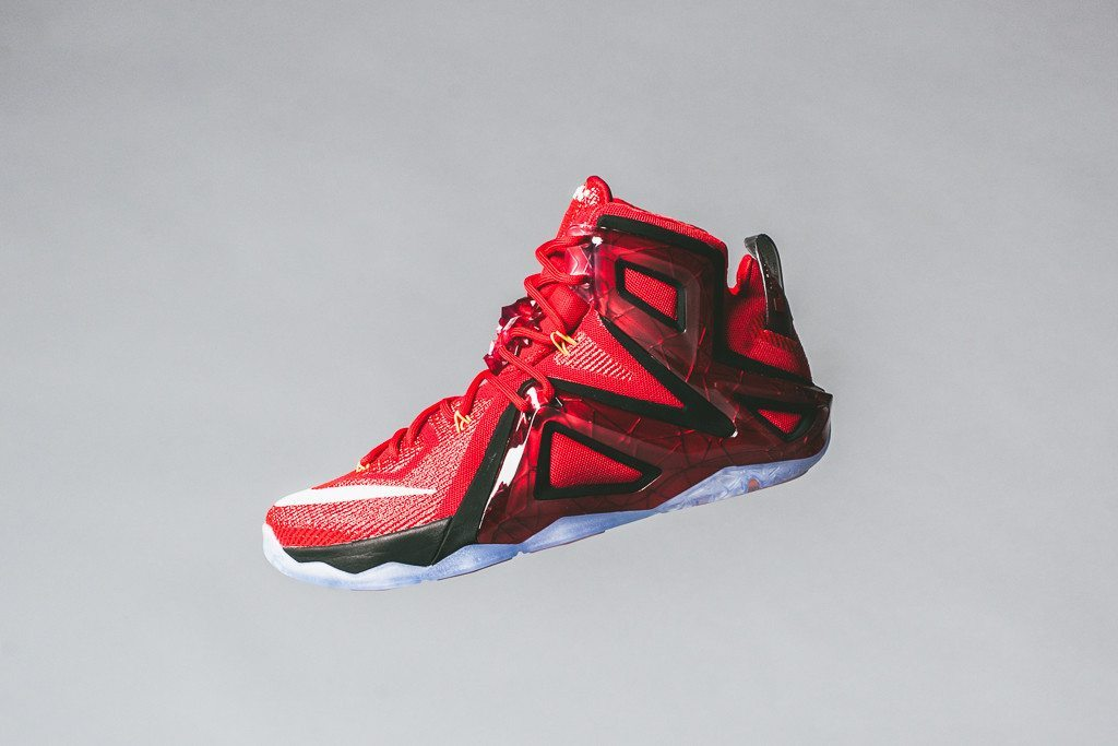 Nike LeBron 12 Elite University Red 1