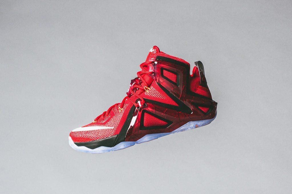 Nike LeBron 12 Elite University Red 1