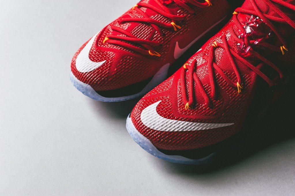Nike LeBron 12 Elite University Red 16