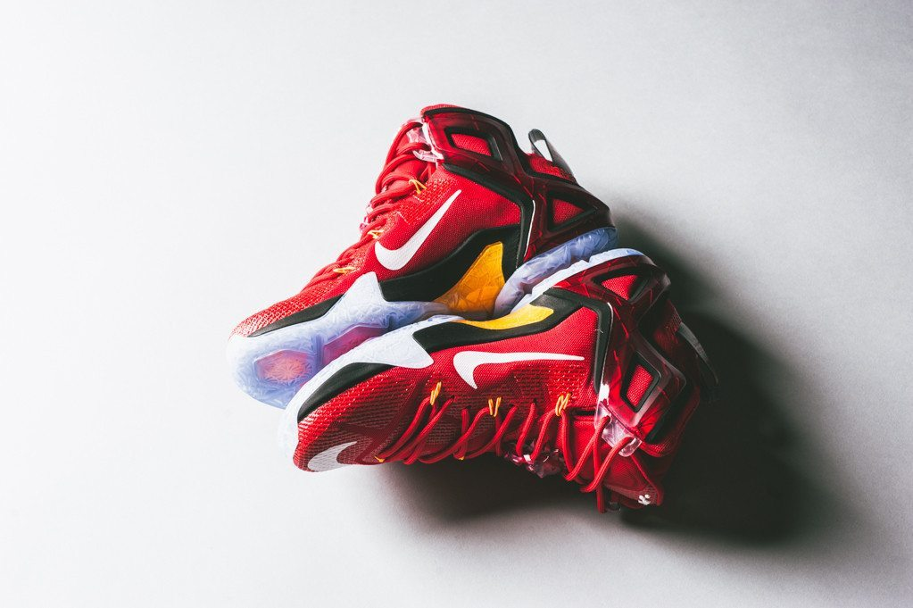 Nike LeBron 12 Elite University Red 2