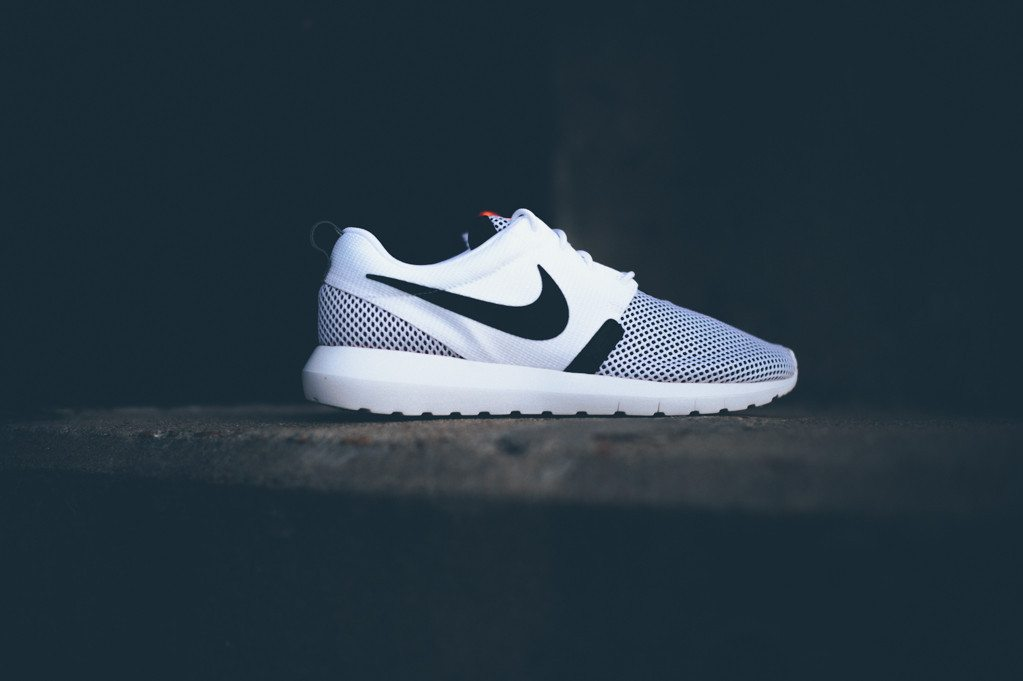 Nike Roshe Run NM BR White Black 1