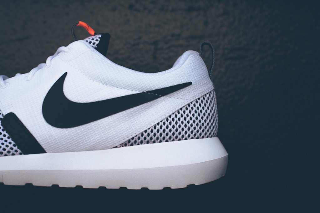 Nike Roshe Run NM BR White Black 3
