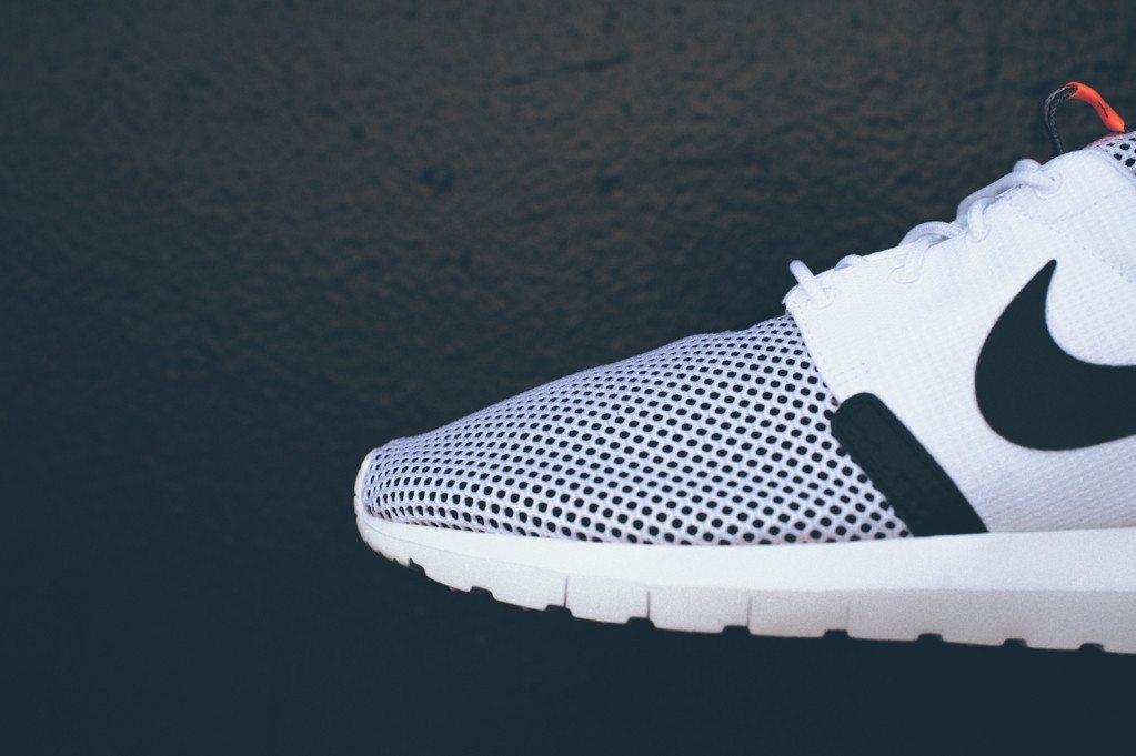 Nike Roshe Run NM BR White Black 4