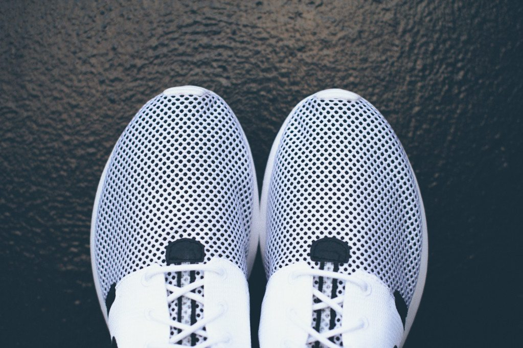 Nike Roshe Run NM BR White Black 6
