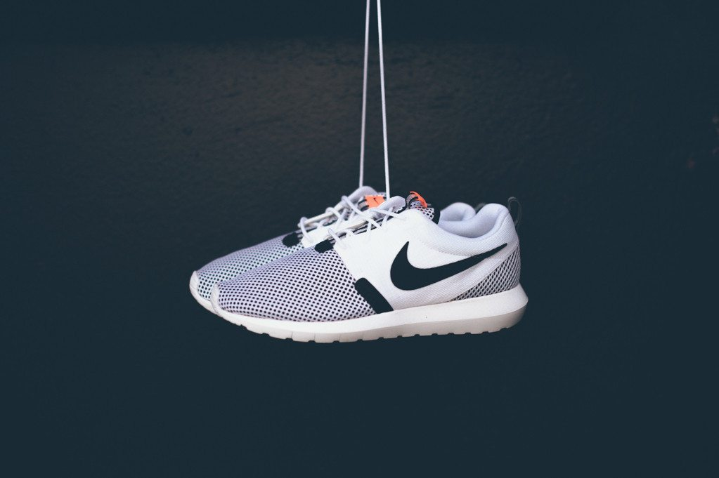 Nike Roshe Run NM BR White Black 7