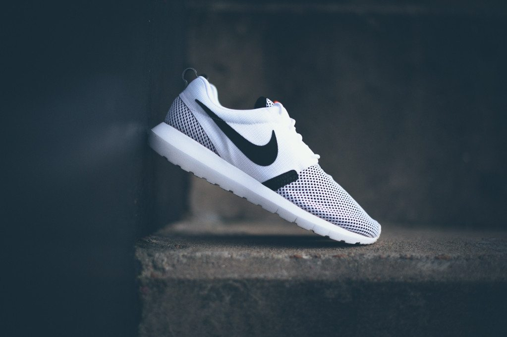 Nike Roshe Run NM BR White Black 8