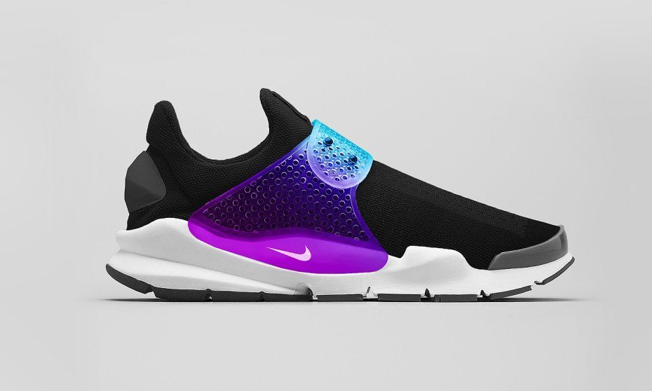Nike Sock Dart Black Grape