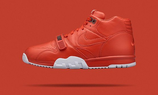 NikeCourt Air Trainer 1 Mid x fragment Red White