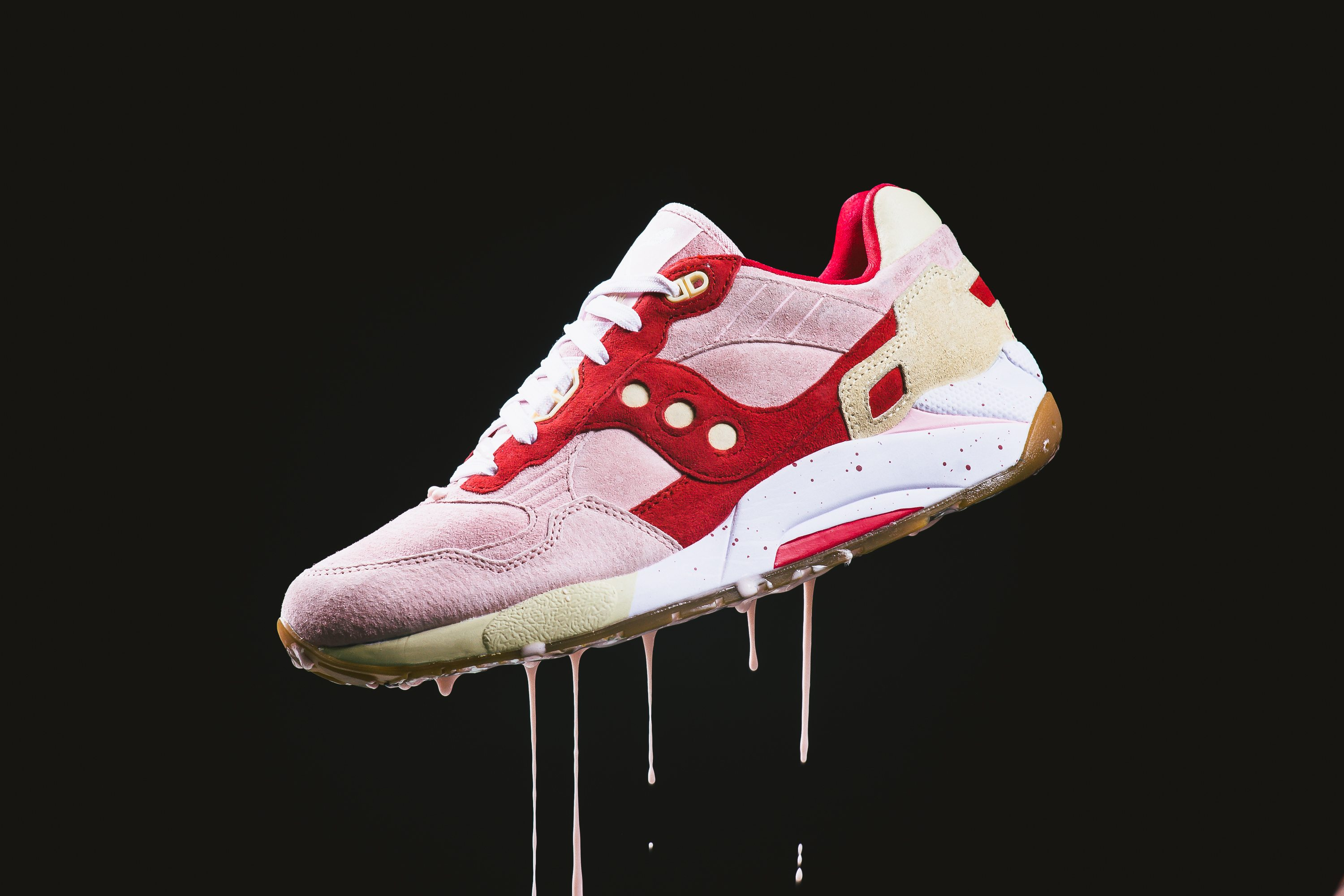 Saucony Originals Scoops Pack G9 Shadow 5 Strawberry Vanilla 1