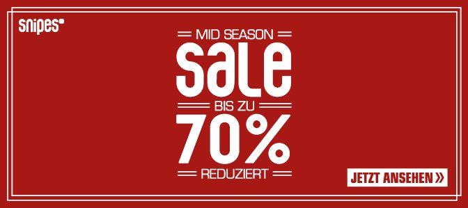 Snipes Mid Season Sale 70