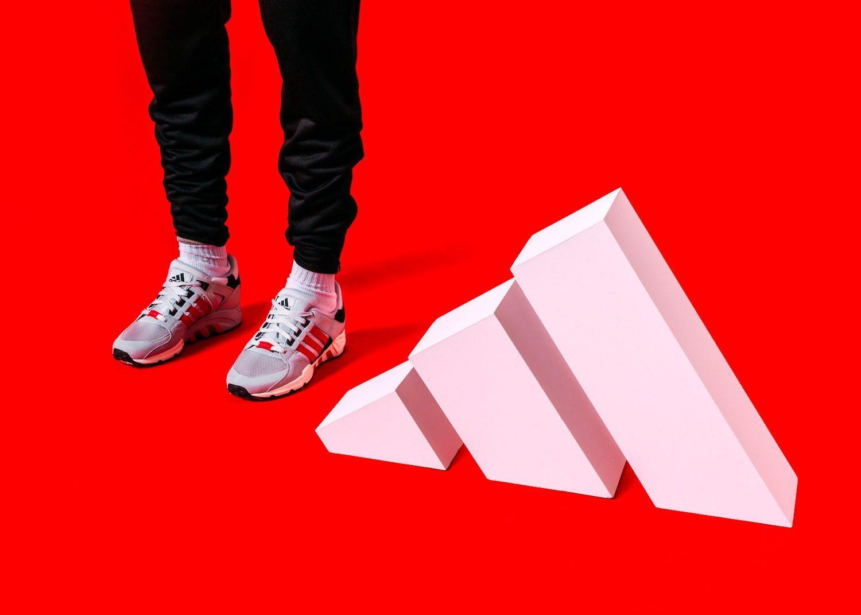 adidas Originals EQT Support 93 OG Scarlet 5