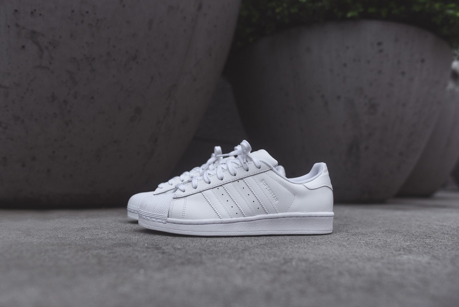 adidas Originals Superstar All White 2