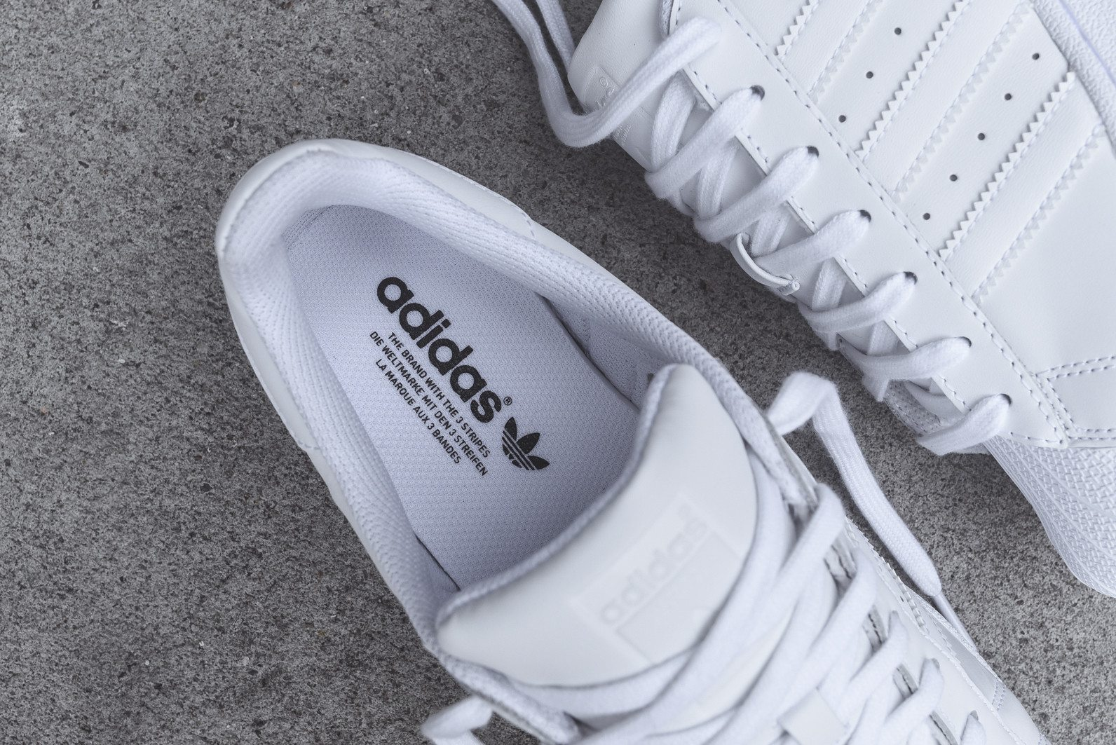 adidas Originals Superstar All White 7