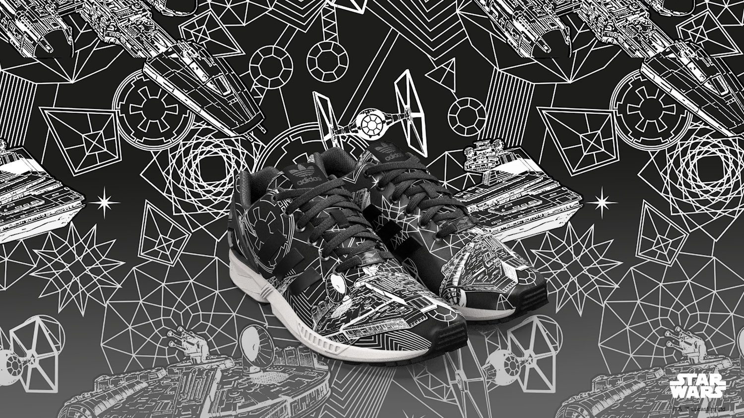 adidas Originals x Star Wars mi ZX FLUX 2
