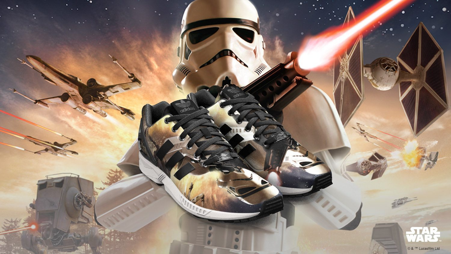 adidas Originals x Star Wars mi ZX FLUX 3