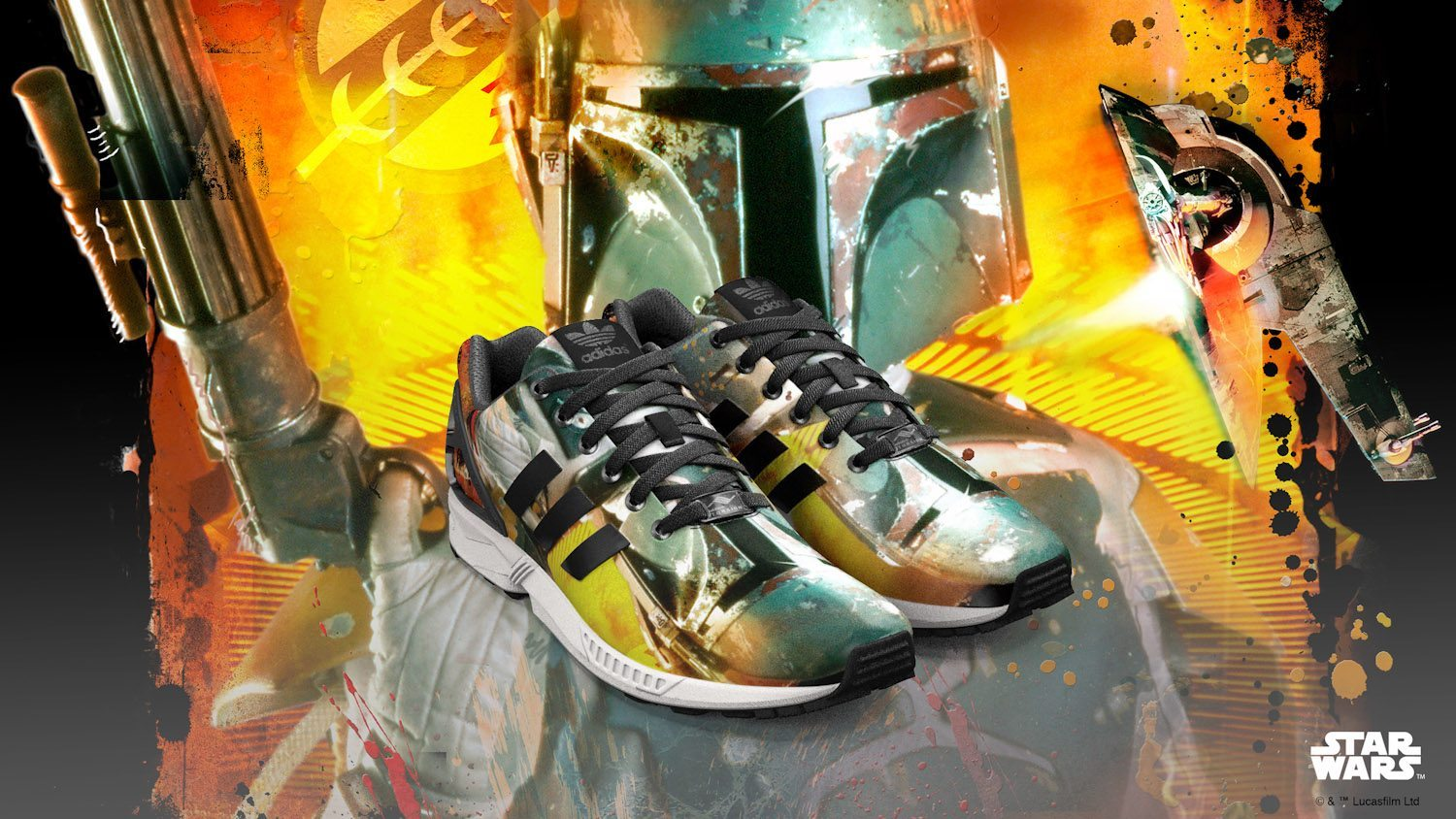 adidas Originals x Star Wars mi ZX FLUX 5