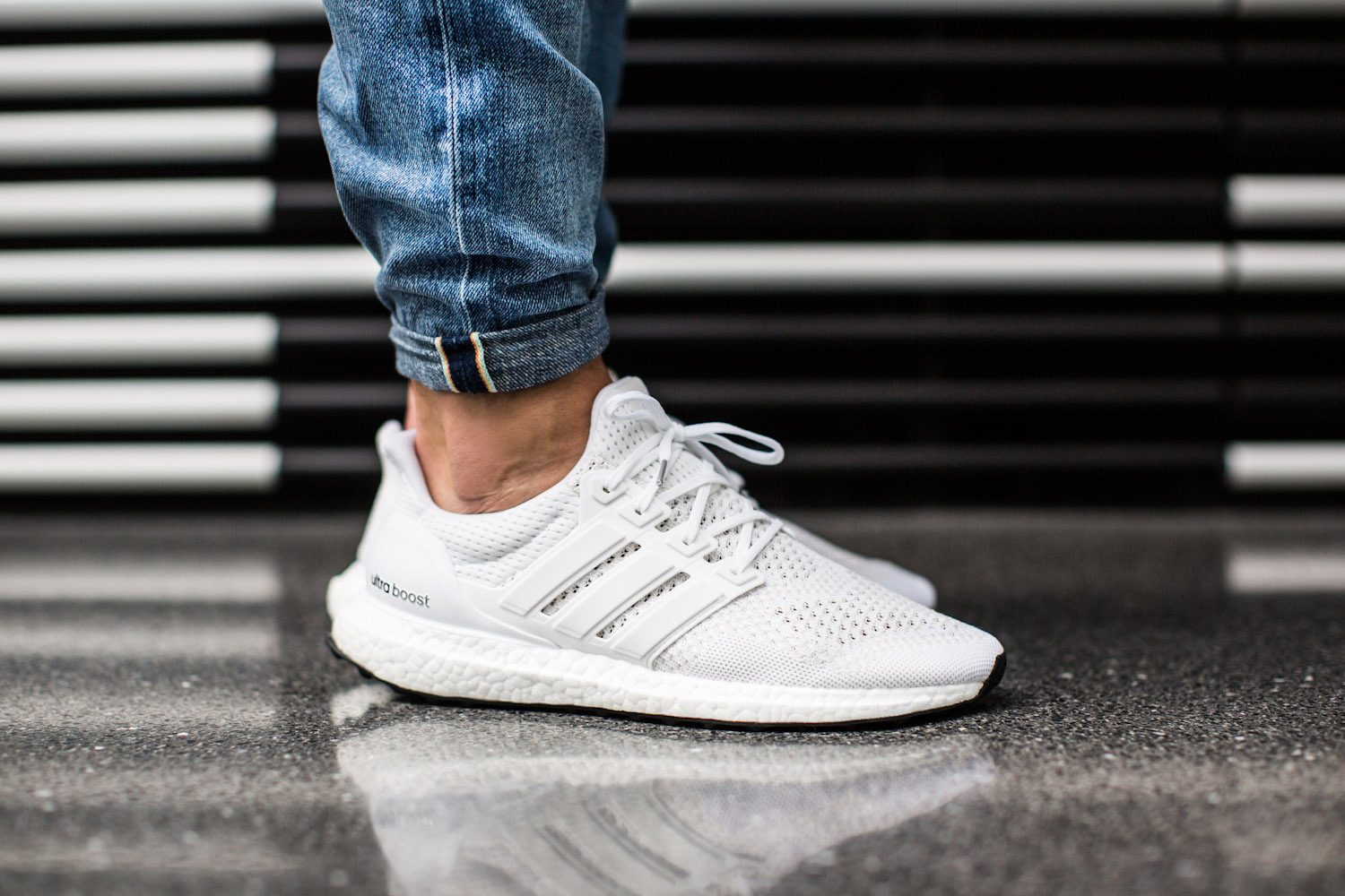 adidas Ultra BOOST All White 2