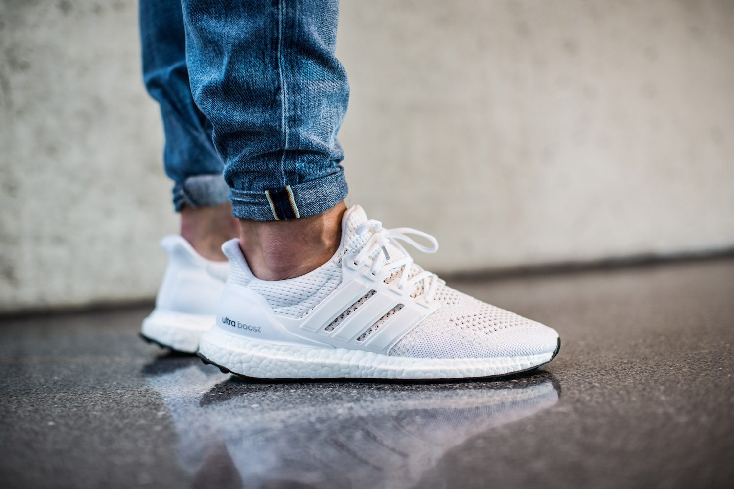 adidas Ultra BOOST All White 4