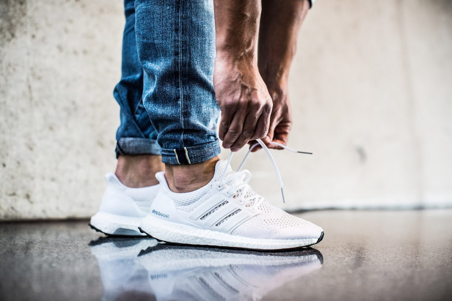 adidas Ultra BOOST All White 5
