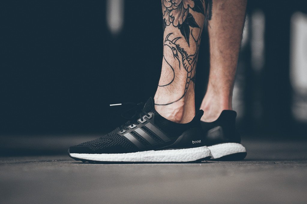 adidas Ultra Boost Black White 9