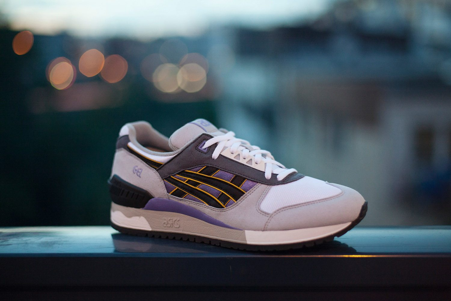 ASICS Gel Respector Aster Purple Black 1
