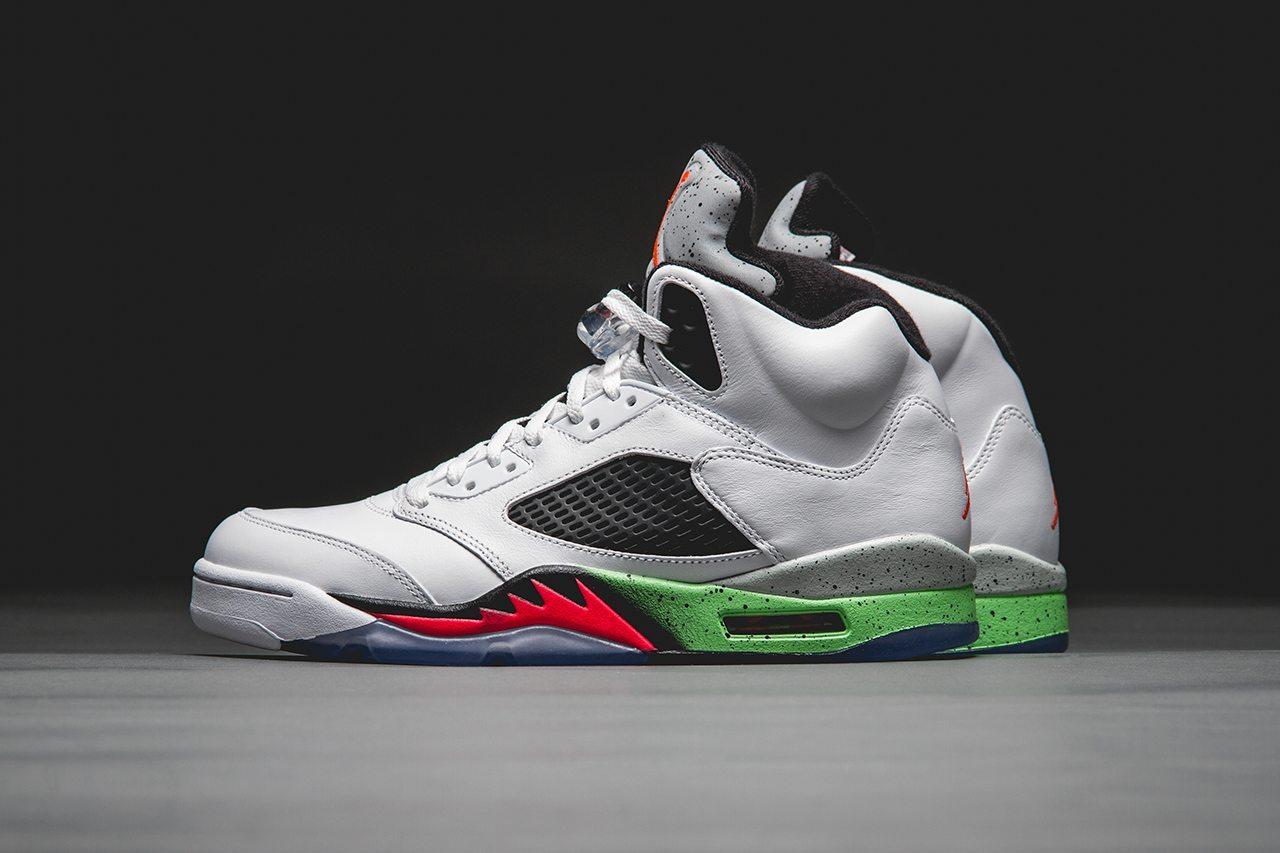 Air Jordan 5 Retro Poison Green 1