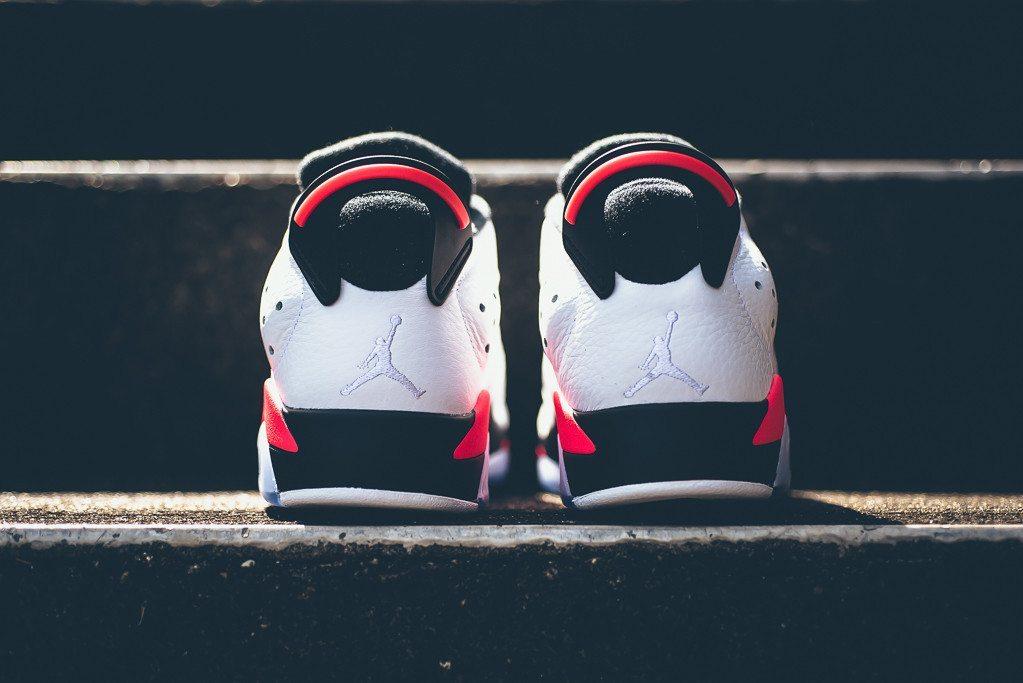 Air Jordan 6 Retro Low White Infrared 23 4