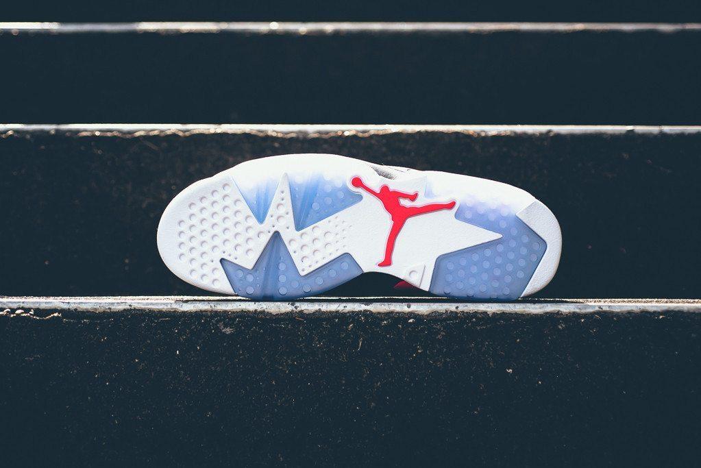 Air Jordan 6 Retro Low White Infrared 23 5